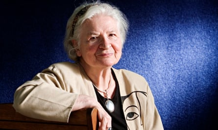 PD James pictured sitting before an appearance at the Edinburgh international book festival in 2006.