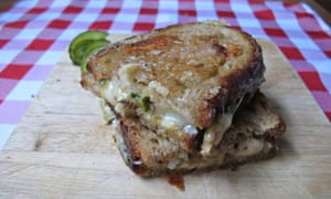 Felicity Cloake's perfect grilled cheese sandwich