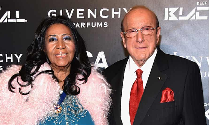 Aretha Franklin and Clive Davis, NYC, October 2014