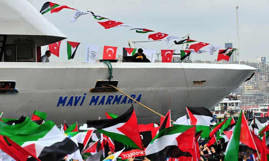 Turkish ship Mavi Marmara
