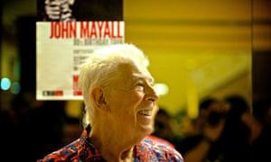 John Mayall in concert, Bilbao, Spain, April 2014