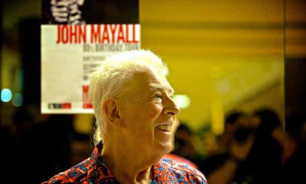 John Mayall in concert, Bilbao, Spain, April 2014