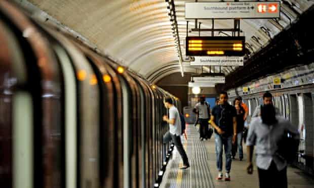 Tube drivers strike