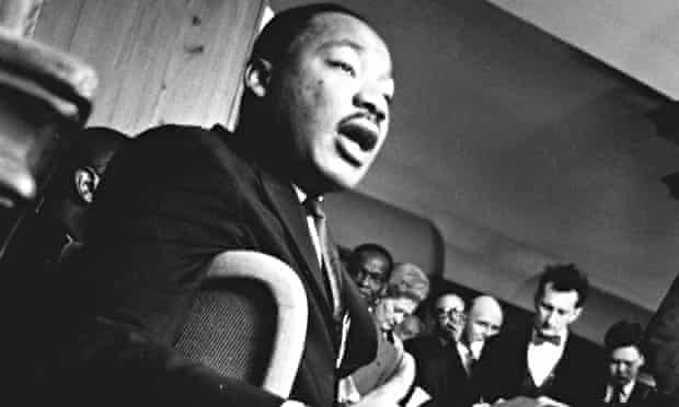 Martin Luther King in London, September 1964
