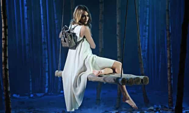 Mulberry model Cara Delevingne