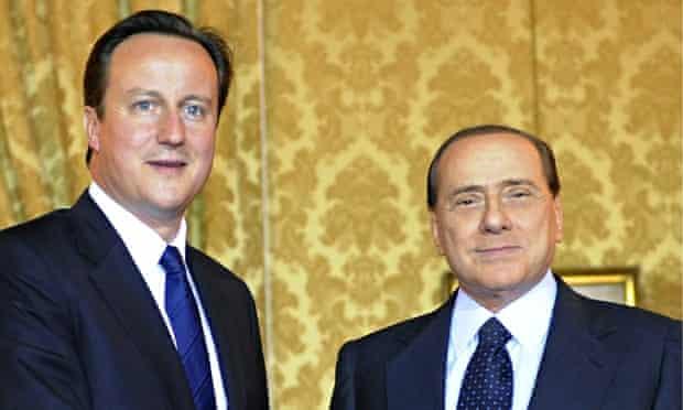 British Prime Minister David Cameron  po