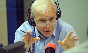 John Humphrys in the Today studio