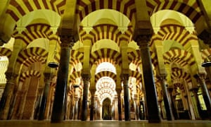 Inside the Mosque-Cathedral of Córdoba