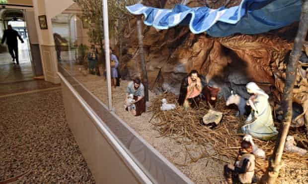 Nativity scene at Béziers city hall, France