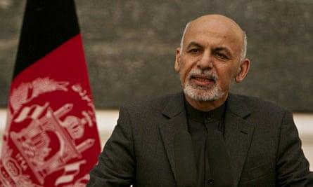Ashraf Ghani, Afghanistan's president