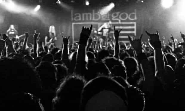 As the Palaces Burn: Lamb of God concert