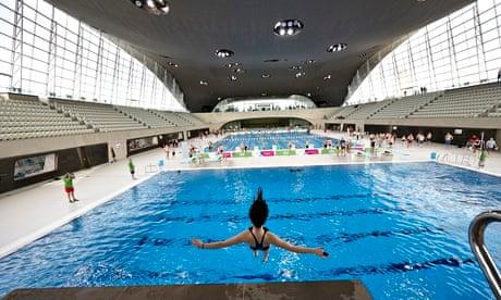 London aquatics centre take a daley dive or adlington dip at off peak uk news the for Stratford swimming pool timetable