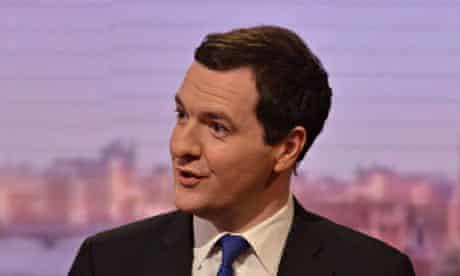 BBC leftwing bias George Osborne