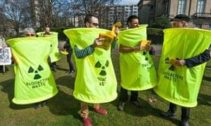 Fukushima London protest