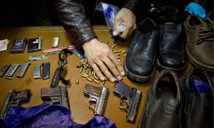Weapons used by Taliban gunmen in Serena hotel attack in Kabul