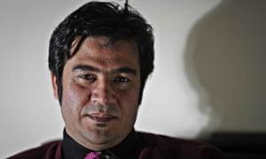 Afghan journalist Sardar Ahmad