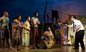 The Book of Mormon at the Eugene O'Neill theatre, New York