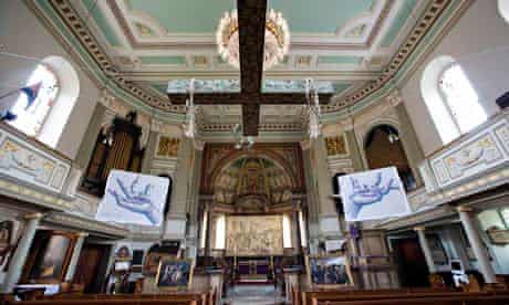 St Marylebone church: Stations of the Cross exhibition