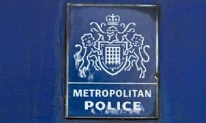 Metropolitan police plaque