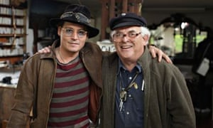 Johnny Depp and Ralph Steadman in the documentary For No Good Reason