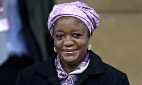 Zainab Bangura, the UN's special representative on sexual violence in conflict