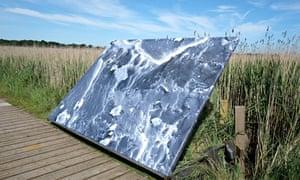 Anya Gallaccio's 'Untitled Landscape' 2014 at Snape Maltings
