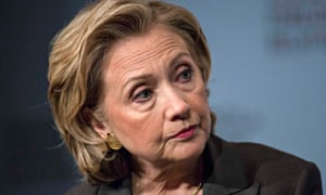 Hillary Clinton in close up