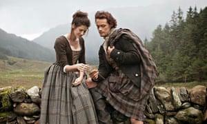 Still from Outlander, new fantasy series from Starz