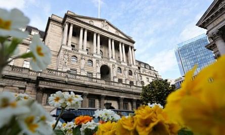 The Bank of England, London