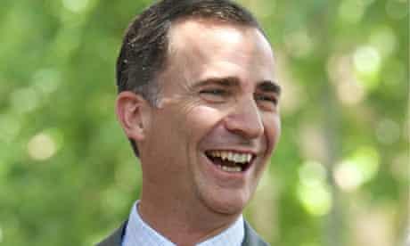 Prince Felipe of Spain, Madrid, 18 June