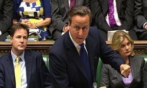 David Cameron Prime Minister's Questions