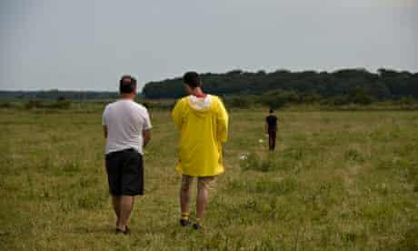 Robert Wilson Walking, Holkham, Norfolk