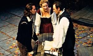 Joseph Fiennes, Teresa Banham and Liam Cunningham in The Herbal Bed