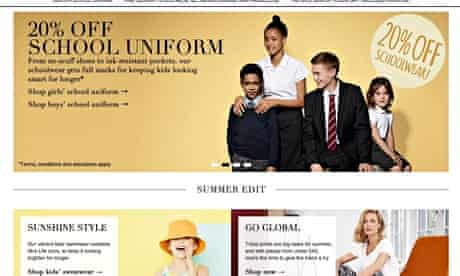 Marks and spencer's website