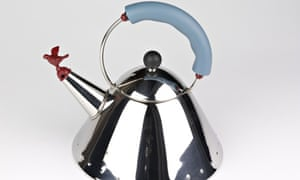 Michael Graves' kettle for Alessi, 1983.