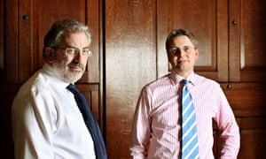 Sir Bob Kerslake and Sir Jeremy Heywood