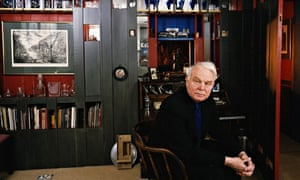 Modernist architect Sir Richard MacCormac at home in east London.