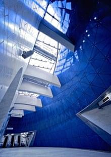 MacCormac designed the atrium at Southwark underground station