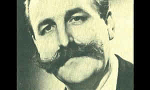 Johnnie Gray, saxophonist, with handlebar moustache