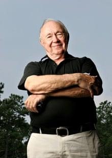 Theodore Van Kirk in his retirement years.