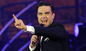 Robbie Williams at the O2 Arena