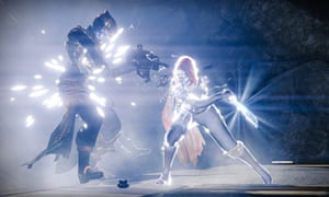 Let the game commence … a Destiny action scene