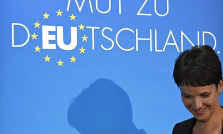 Frauke Petry, Alternative für Deutschland party candidate in Saxony, in Berlin