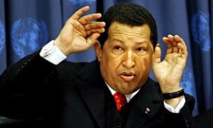 Hugo Chávez at the UNGA in 2006