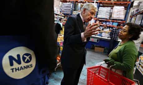 Jack Straw in supermarket