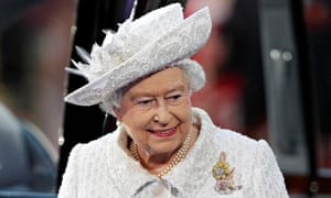 Queen Elizabeth II, pictured at the Commonwealth Games opening ceremony in Glasgow earlier this year