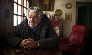 The president of Uruguay José Mujica