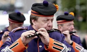 Orange Order march in Glasgow