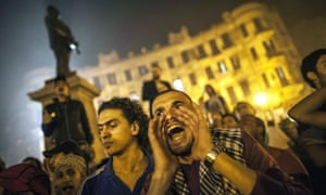 Anti-government protests in Cairo, Egypt