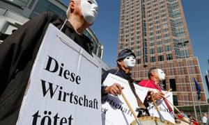 Deutsche Bank demonstration